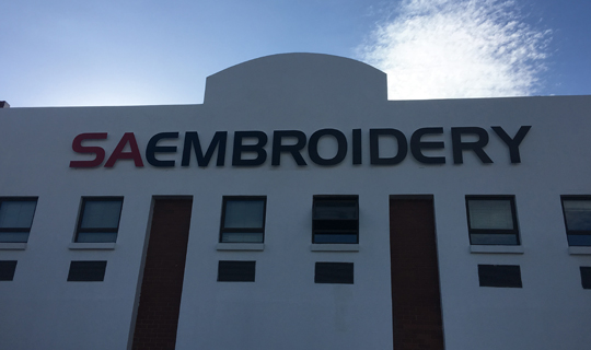 SA Embroidery Building